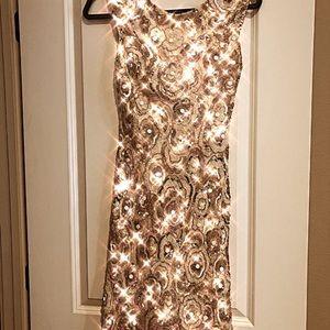 Sherri Hill beaded dress, size 6